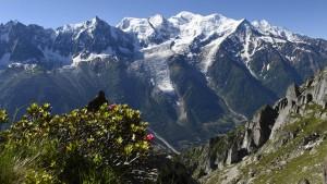 Sechs Bergsteiger am Mont-Blanc-Massiv gestorben