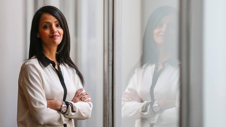 Sawsan Chebli im Auswärtigen Amt