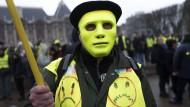 Wird dieser Demonstrant von Falschnachrichten beeinflusst?