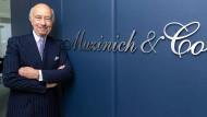 George Muzinich, Vermögensverwalter in der Muzinich Niederlassung in Frankfurt
