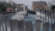 """Damals: Goepferts Wasserspiele als """"großartiges, abstraktes Werk, mit eigener ästhetischer und visueller Kraft"""""""