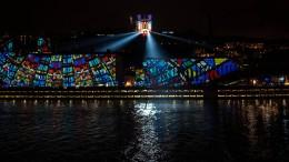 Lichtspektakel in Lyon