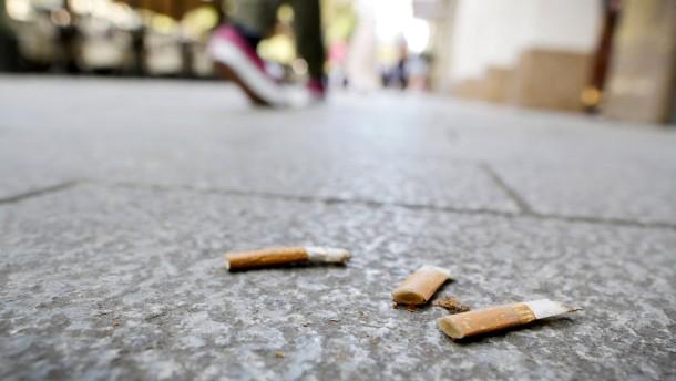 Kampf dem Zigarettenmüll