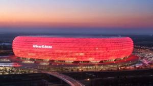 Die Allianz steigt  bei Bayern München ein