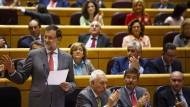 Rajoy bittet die Spanier um Verzeihung