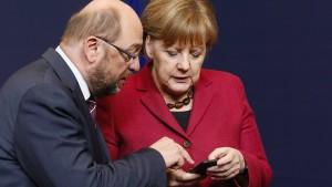 Merkels Achillesferse