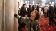 "Geschichtsstunde: Die Kuppel der Blauen Moschee tragen vier ""Elefantenfüße"""
