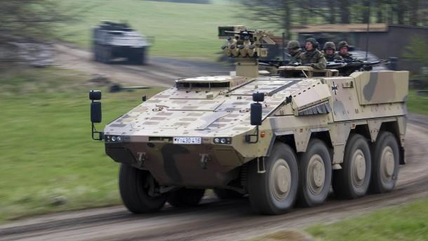 Rheinmetall hofft auf eine spendable Bundeswehr