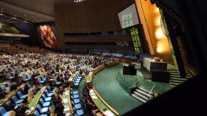 Vollversammlung verurteilt Gewalt in Syrien