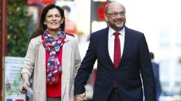 Schulz geht optimistisch in den Wahltag