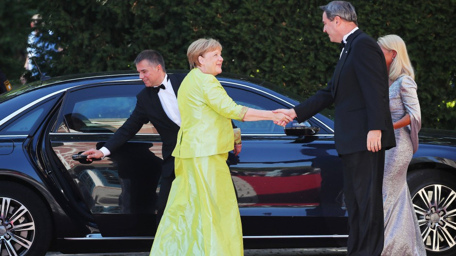 Wagner, Merkel und die Maus