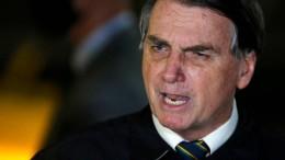 Bolsonaro missachtet Corona-Schutzmaßnahmen