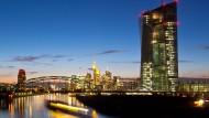 Scharf kritisiert: die Europäische Zentralbank in Frankfurt