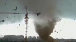 Tornado verwüstet nordchinesische Stadt