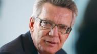 Hält ein Einwanderungsgesetz für überflüssig: Bundesinnenminister Thomas de Maizière (CDU)