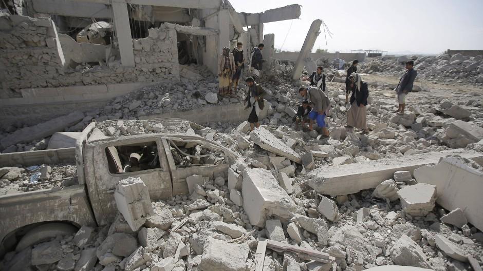 Raketenangriff im Jemen (Archivbild)