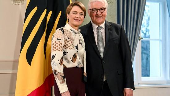 Steinmeier und Ehefrau laden zum Neujahrsempfang
