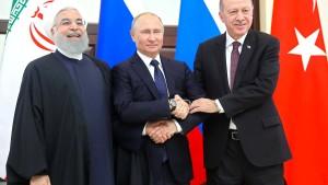 Erdogan trifft Putin und Ruhani
