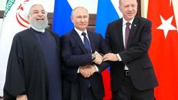 Erdogan trifft Putin und Rohani