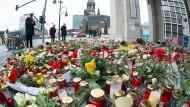 Trauer und Gedenken am Berliner Breitscheidplatz (26.12.2016)