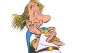 Neuer Asterix-Band: Mit von der Partie ist Michel Houellebecq