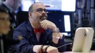 Händler an der New Yorker Börse: Zweifel an der amerikanischen Konjunktur