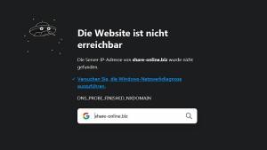 Polizei schließt Deutschlands größte Filesharing-Plattform
