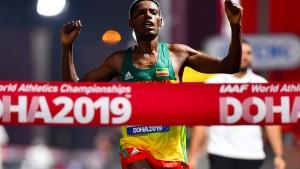 Äthiopier Desisa gewinnt Marathon-Gold