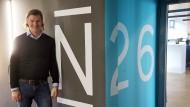 Kann sich freuen: N26-Gründer Valentin Stalf