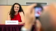 """Die frisch gewählte Vorsitzende der """"Juden in der AfD"""": Vera Kosova"""