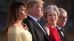 Warum Trump die Briten provoziert