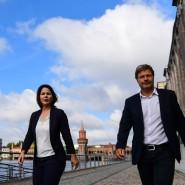 Die Grünen haben schon lange eine: Robert Habeck und Annalena Baerbock als Doppelspitze