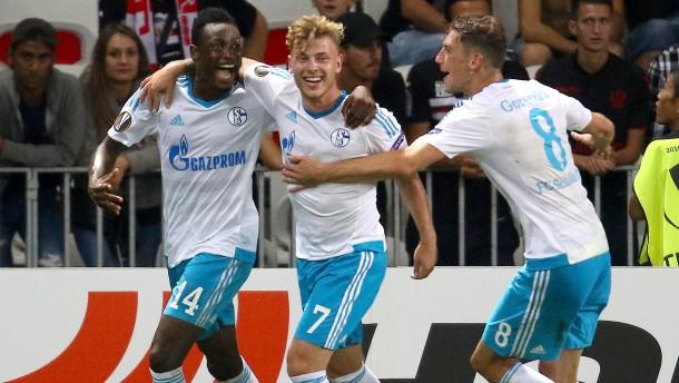 Baba belohnt Schalke