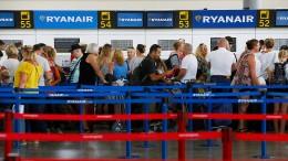 Hunderte Flugausfälle bei Ryanair