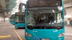 Nur noch besonders saubere Busse in der Innenstadt