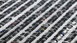Autoabsatz in Europa bricht ein