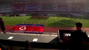 Kunstvolles Sportevent in Nordkorea