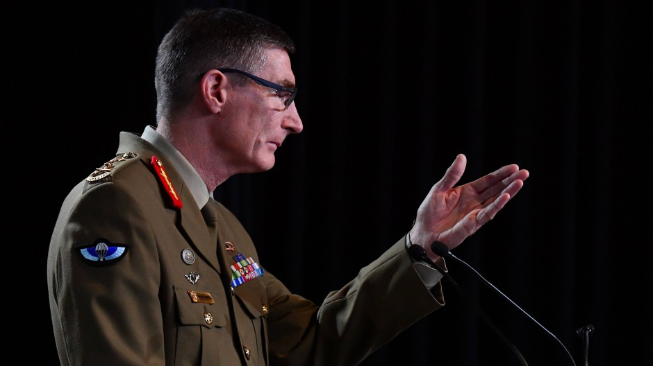 Australiens oberster General, Angus Campbell
