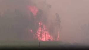 Riesige Brände im Osten Russlands