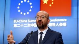 EU verständigt sich auf Reaktion gegen China