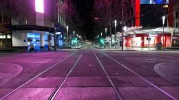 Nächtliche Ausgangssperre in Melbourne verhängt