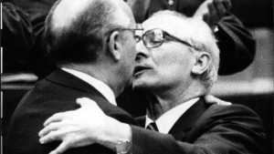 Warten auf Gorbatschow in Ost-Berlin
