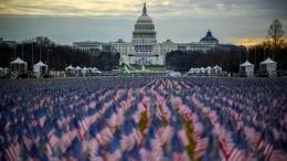 Washington probt die Amtsübergabe