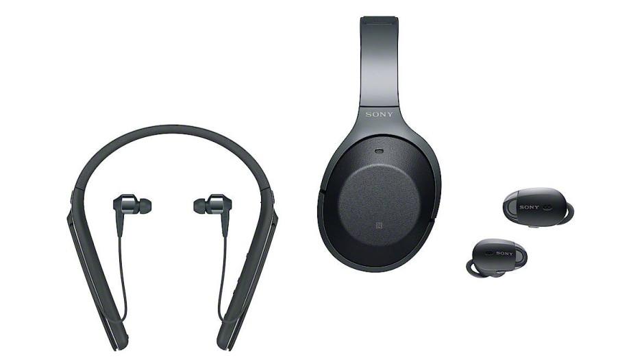 Das ist die 1000X-Serie von Sony mit drei Modellen.