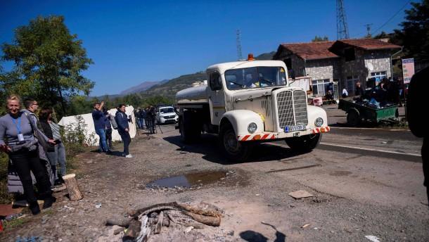 Kosovo und Serbien geben blockierte Grenzübergänge frei