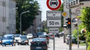 Warum in Frankfurt Dieselfahrverbote möglich sind