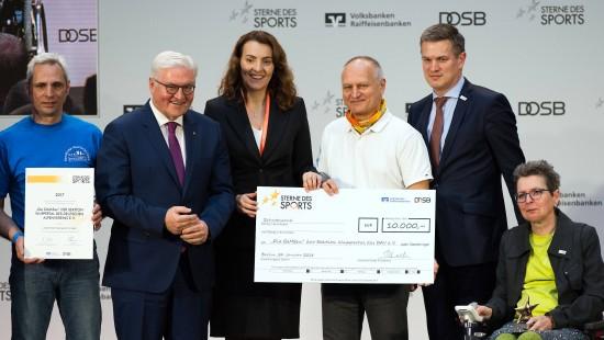 """Großer Stern des Sports"" geht an Klettergruppe"