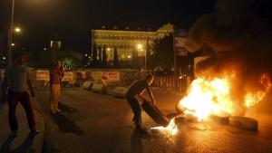 Libanesische Brandherde