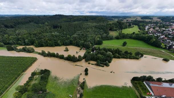 Katastrophenfall für Ortschaft im Landkreis Erding ausgerufen