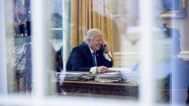 """Trump bestätigt """"Ein-China-Politik"""""""